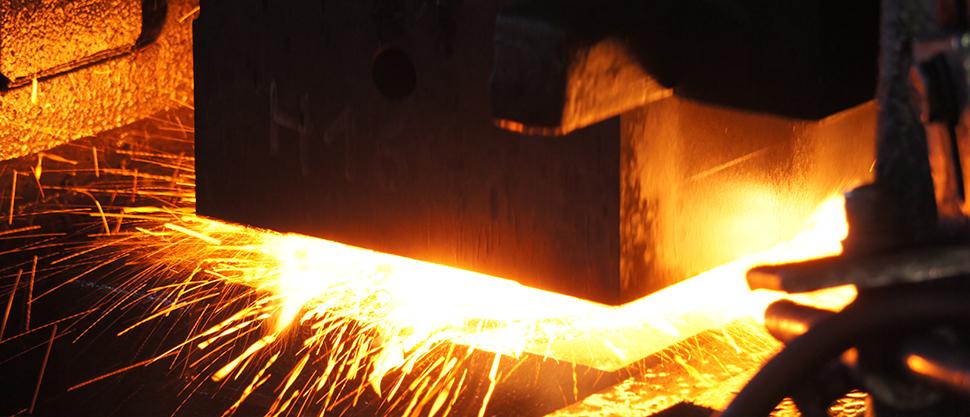 marteau pilon - forge industrielle